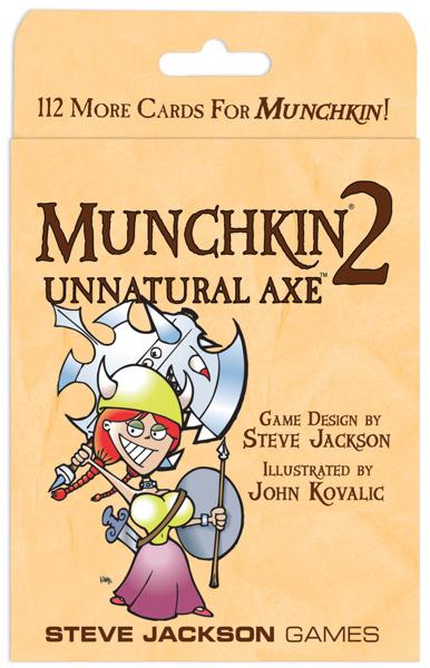 Munchkin 2: Unnatural Axe image