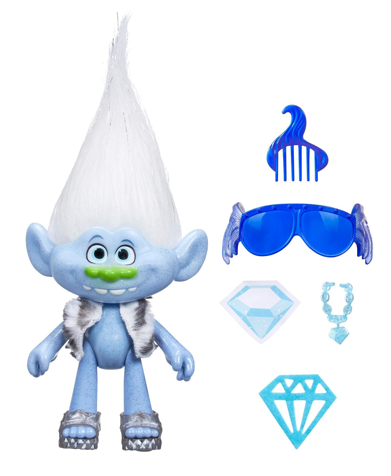 "DreamWorks Trolls: Guy Diamond - 9"" Doll image"