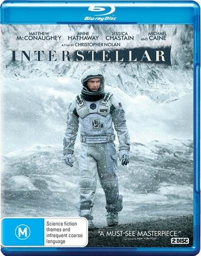 Interstellar on Blu-ray image