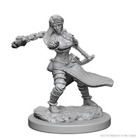 D&D Nolzur's Marvelous: Unpainted Minis - Human Female Monk
