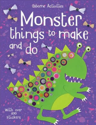Monster Things To Make And Do image