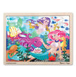 Melissa & Doug: Mermaid Fantasea Wooden Jigsaw Puzzle - 48 Pieces