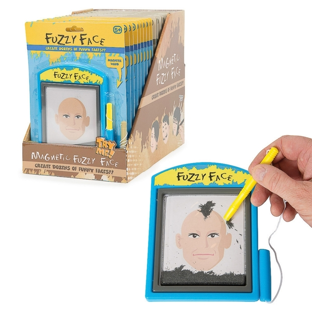 Magnetic Fuzzy Face - Assorted Designs