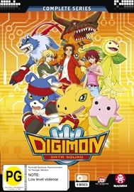 Digimon Data Squad (Season 5) Complete Series (Eps 1-48) on DVD