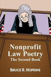 Nonprofit Law Poetry by Bruce R Hopkins