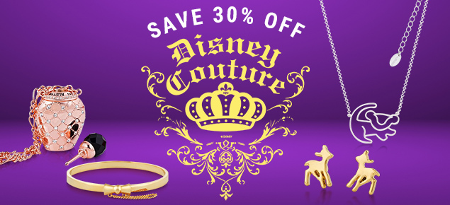 30% off Disney Couture Jewellery!