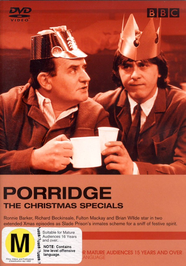 Porridge - The Christmas Specials on DVD image
