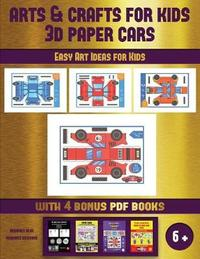 Easy Art Ideas for Kids (Arts and Crafts for kids - 3D Paper Cars) by James Manning image