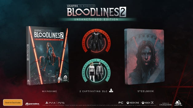 Vampire: The Masquerade – Bloodlines 2 Unsanctioned Edition for Xbox One