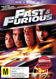 Fast And Furious UV on DVD