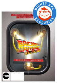 Back to The Future - Flux Capacitor Box Set (Mighty Ape Exclusive) on Blu-ray