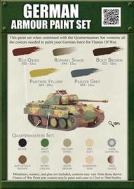 Flames of War - German Armour Paint Set