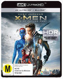 X-Men: Days of Future Past (4K UHD + UV + Blu-ray) DVD