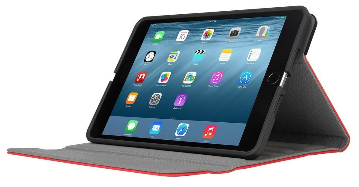 Targus: Versavu 360 iPad Mini (Multi-Gen) - Red image