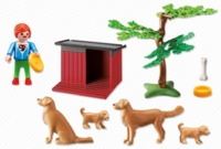 Playmobil: Golden Retrievers Set (6134)