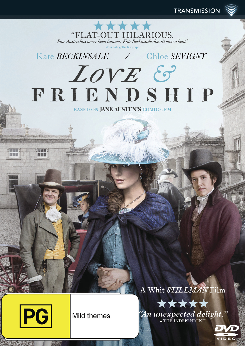 Love & Friendship on DVD image