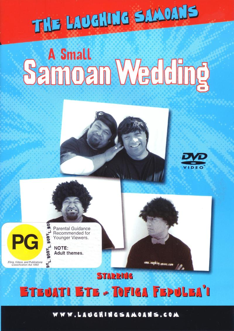 The Laughing Samoans - A Small Samoan Wedding on DVD image