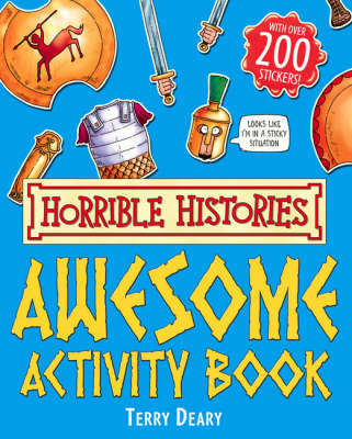 Awesome Activity Book by Terry Deary image