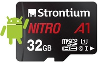 Strontium Nitro A1 Micro SD Card with Adaptor - 32GB