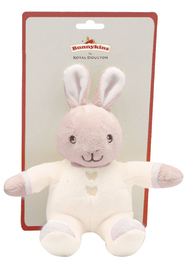 Bunnykins: Plush Toy Rattle - Cream