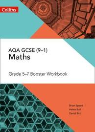 AQA GCSE Maths Grade 5-7 Workbook by Brian Speed image