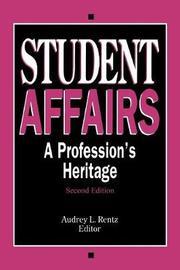 Student Affairs by Audrey L. Rentz