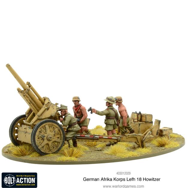 Afrika Korps LeFH 18 10.5cm Medium Artillery