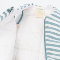Woolbabe: Duvet Sleeping Suit - Tide (1 Year)