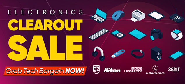 Electronics Clearout SALE!