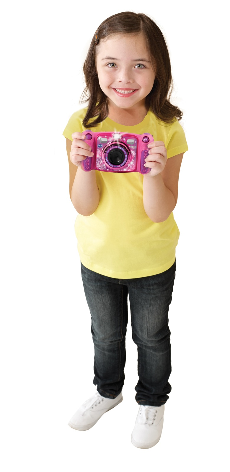 Vtech: Kidizoom Duo 5.0 Camera - (Pink) image