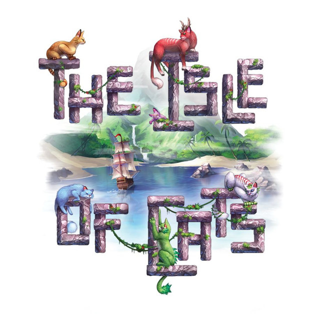 The Isle of Cats: Late Arrivals - 5 & 6 Player Expansion