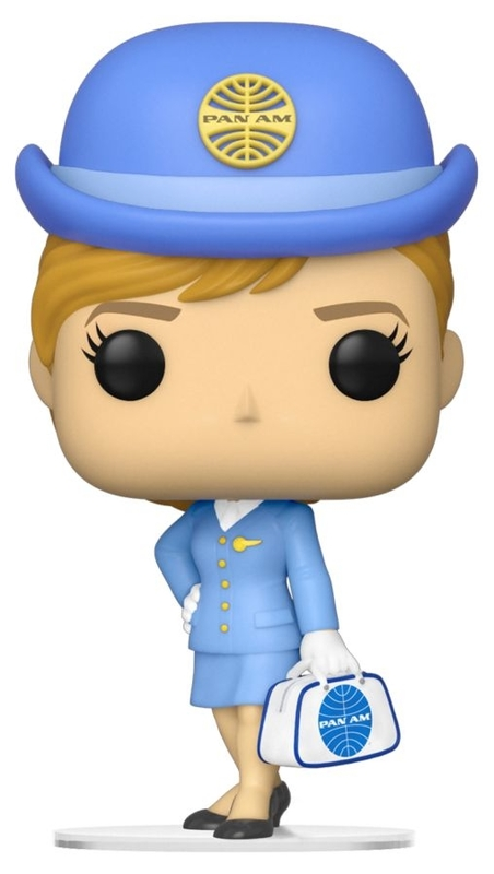 Pan Am: Stewardess (with White Bag) - Pop! Vinyl Figure