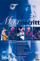 Max Merritt & The Meteors - Live in Concert on DVD