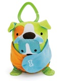 Skip Hop: Hug & Hide Dog Stroller Toy