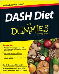 DASH Diet For Dummies by Sarah Samaan