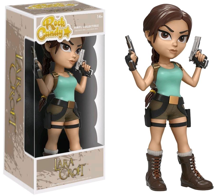 Tomb Raider: Lara Croft - Rock Candy Vinyl Figure image