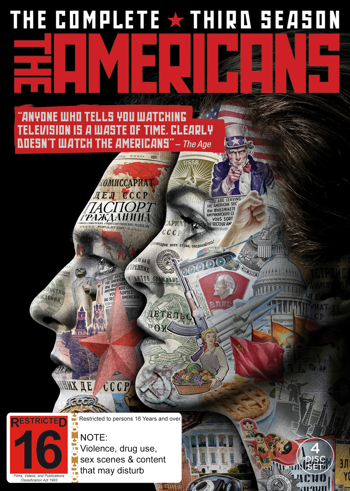 The Americans - The Complete Third Season on DVD image