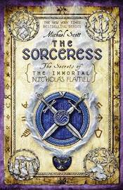 The Sorceress (Nicholas Flamel #3) (US Ed.) by Michael Scott image