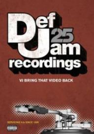 Def Jam 25: VJ Bring that Video Back (Various) on DVD