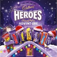 Cadbury Heroes Premium Advent Calendar (232g)