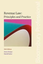 Revenue Law: Principles and Practice by Anne Fairpo