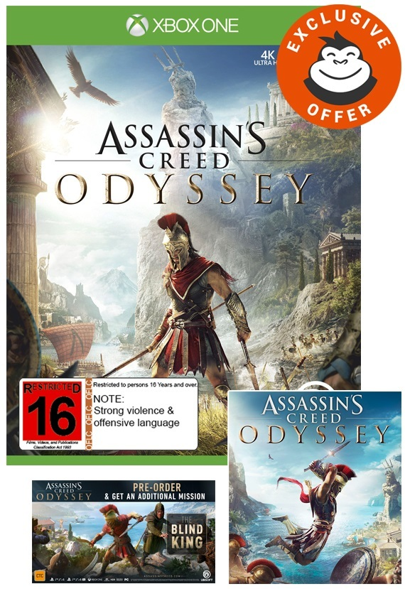 Assassin's Creed Odyssey for Xbox One image