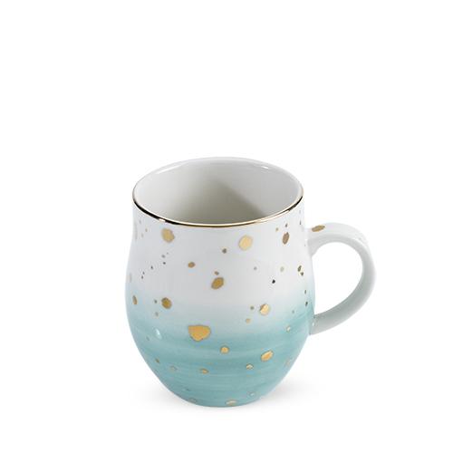 Brynn Green Speckle Ceramic Mug