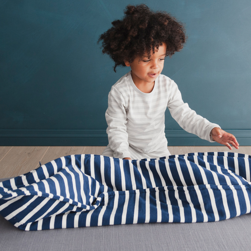 Woolbabe: Duvet Front Zip Woolbabe - Midnight (2- 4 Years) image