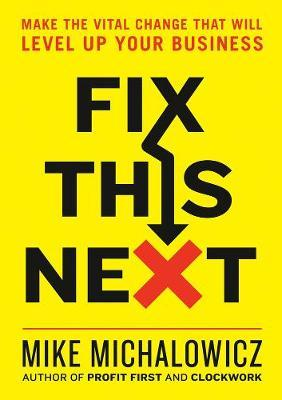 Fix This Next by Mike Michalowicz