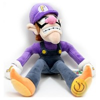 Super Mario Bros. Waluigi 11'' Plush Doll