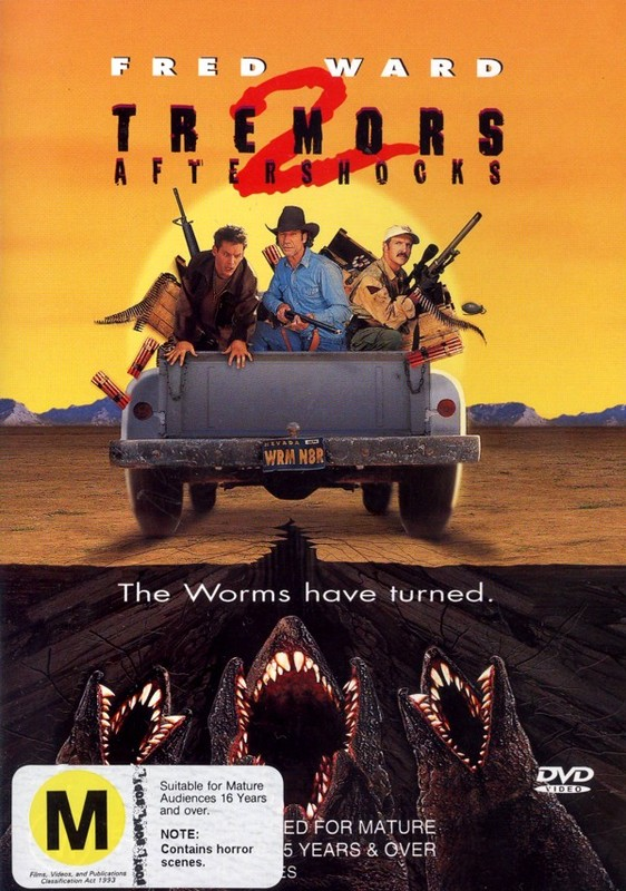 Tremors 2 - Aftershocks on DVD