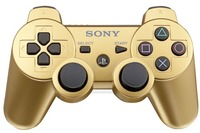 Official Sony Dual Shock 3 Controller - Gold for PS3