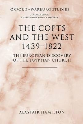 The Copts and the West, 1439-1822 by Alastair Hamilton image