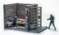 The Walking Dead - Lower Prison Cell Building Set